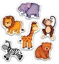 Baby Puzzle - Orman Hayvanları Yaş: 1+