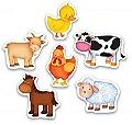 Baby Puzzle - Çiftlik Hayvanları Yaş-1+