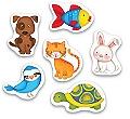 Baby Puzzle - Evcil Hayvanlar Yaş 1+