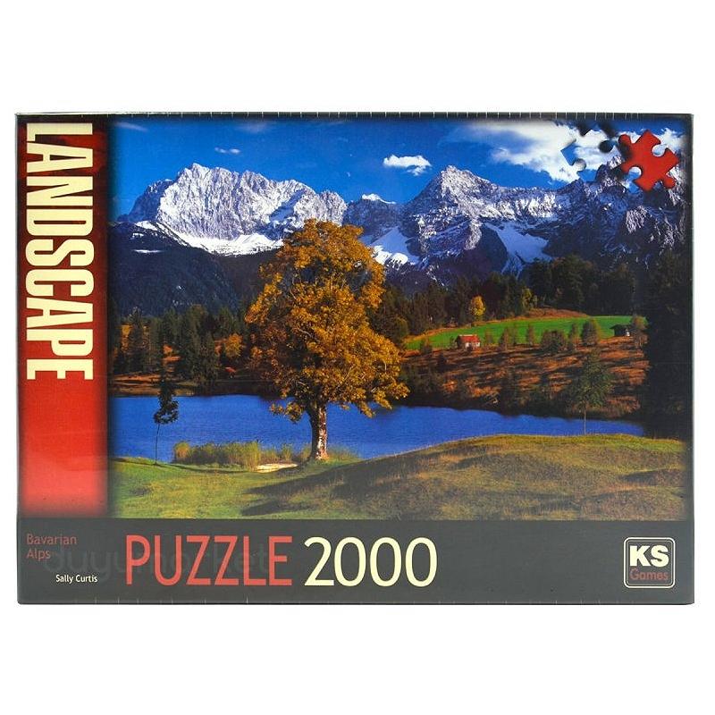 Bavarian Alps Puzzle 2000 Parça (Art.-nr. 11218)