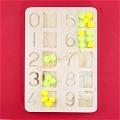 Montessori Eğitici Ponponlu Rakamlar