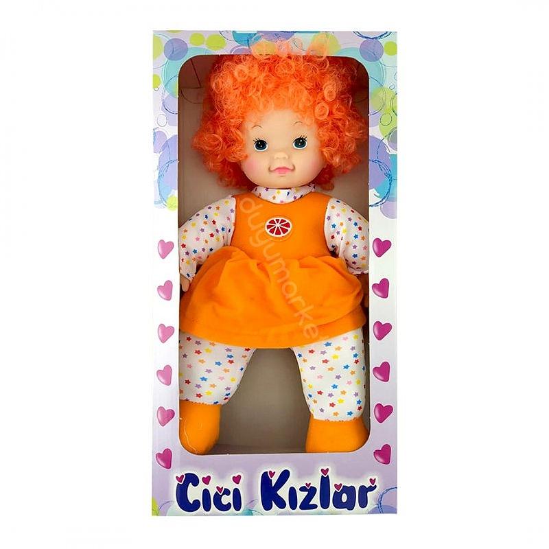 Cici Kızlar - Portakal Bebek - 45 Cm