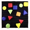 Sünger Blok Cırt Cırtlı Duvar Oyunu