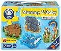 Orchard Mummy And Baby Puzzle (Hayvanlar Ve Yavruları)