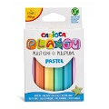 Carioca Plasty Kurumayan Oyun Hamuru 6 Pastel Renk