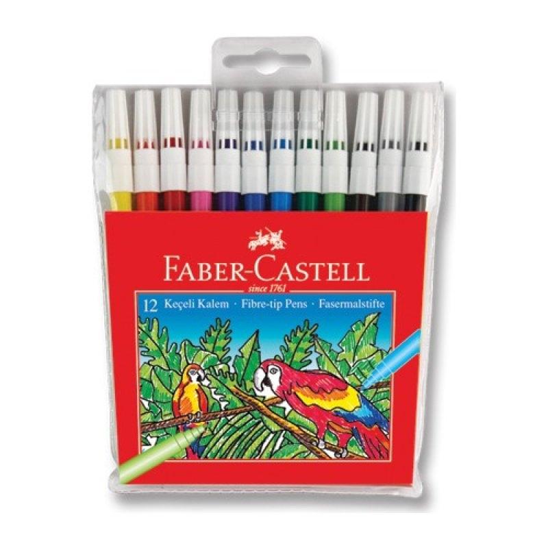 Faber Castell Keçeli Kalem 12'li