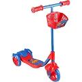 Scooter - Oyuncak Sepetli Frenli 3 Tekerlekli - Mavi