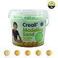 Creall Kinetik Kum 750 Gr Yeşil