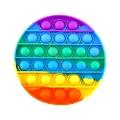 Pop It Push Bubble Fidget (Gökkuşağı / Daire)