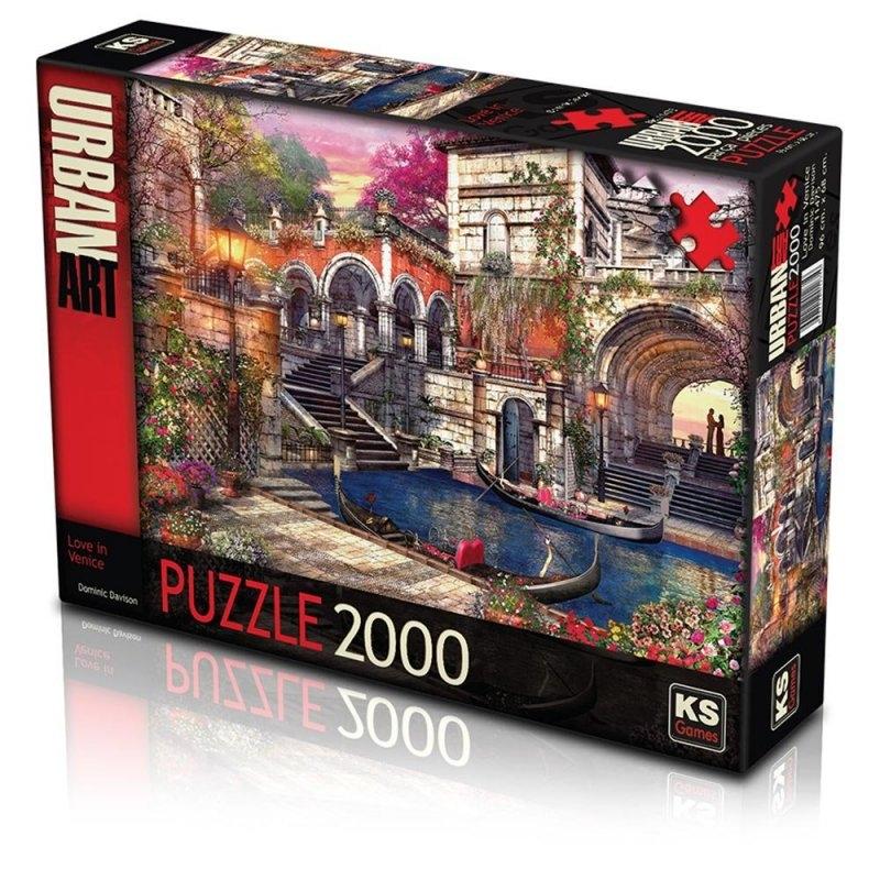 Love In Venice Puzzle 2000 Parça (Art.-nr. 11475)