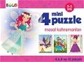 4 Mini Puzzle - Masal Kahramanları