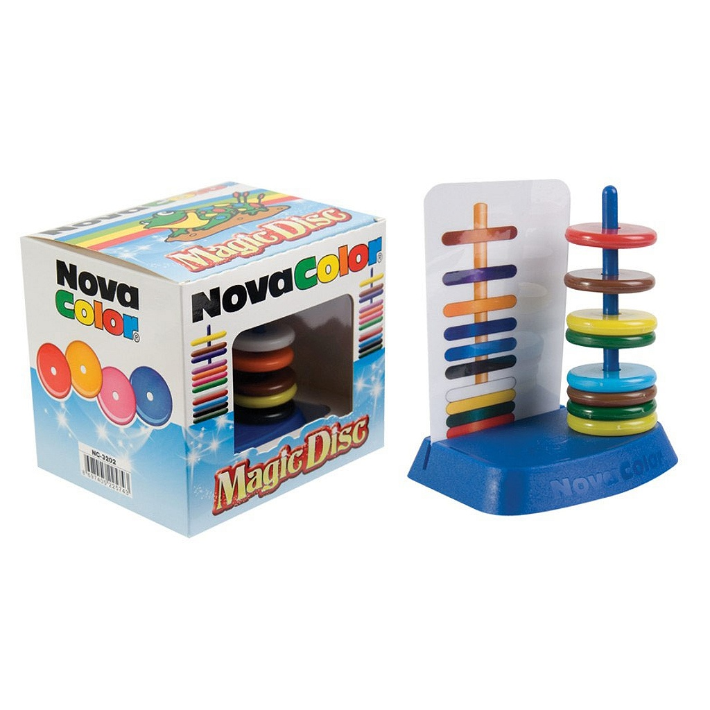 Sihirli Halkalar - Novacolor Magic Disc