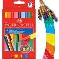 10'lu Eğlenceli Keçeli Kalem Faber Castell