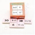 Aritmetik Domino / 4 İşlem Dikkat Oyunu 7-77 Yaş